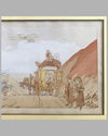 Voyage de Noce hand colored lithograph by Ernest Montaut 3