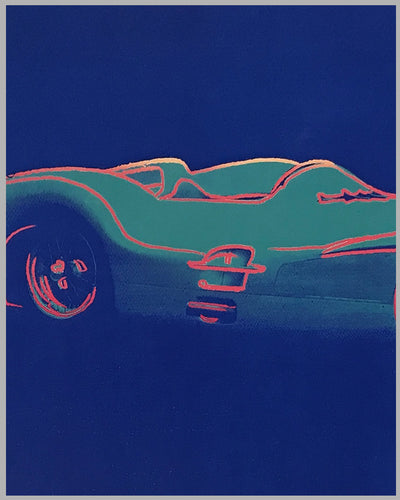 Cars by Andy Warhol - 1954 Mercedes Benz W-196-R Poster 2