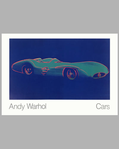 Cars by Andy Warhol - 1954 Mercedes Benz W-196-R Poster
