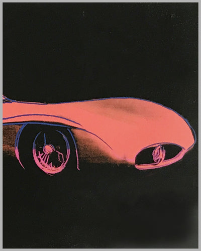Cars by Andy Warhol - 1954 Mercedes Benz W-196-R Poster 3
