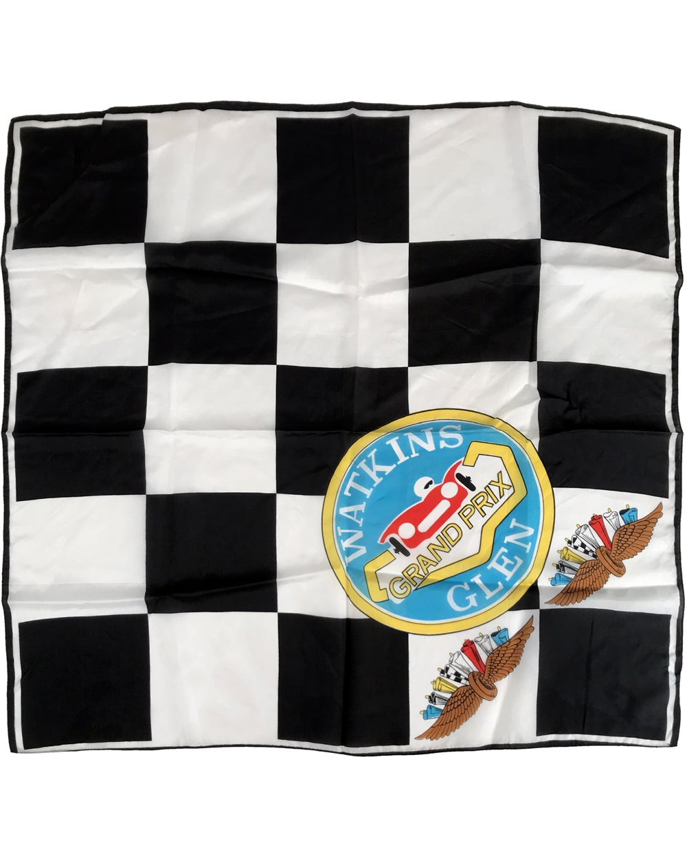 Watkins Glen Grand Prix 1960's period Scarf