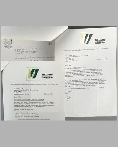 03 - Williams GP Engineering and Watkins Glen GP Corp. correspondence 2