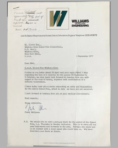 03 - Williams GP Engineering and Watkins Glen GP Corp. correspondence 6