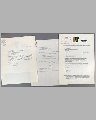 03 - Williams GP Engineering and Watkins Glen GP Corp. correspondence