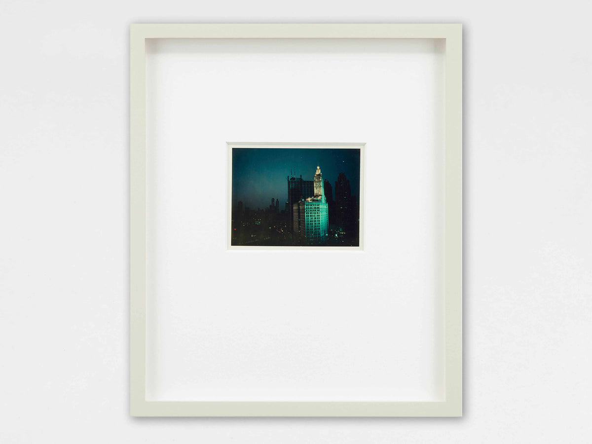 Wim Wenders, View from NY window (1975), C-print