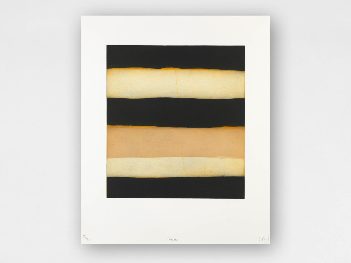 Sean Scully 'Cream' Limited-Edition Print