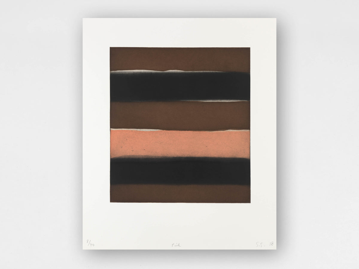 Sean Scully 'Pink' Limited-Edition Print