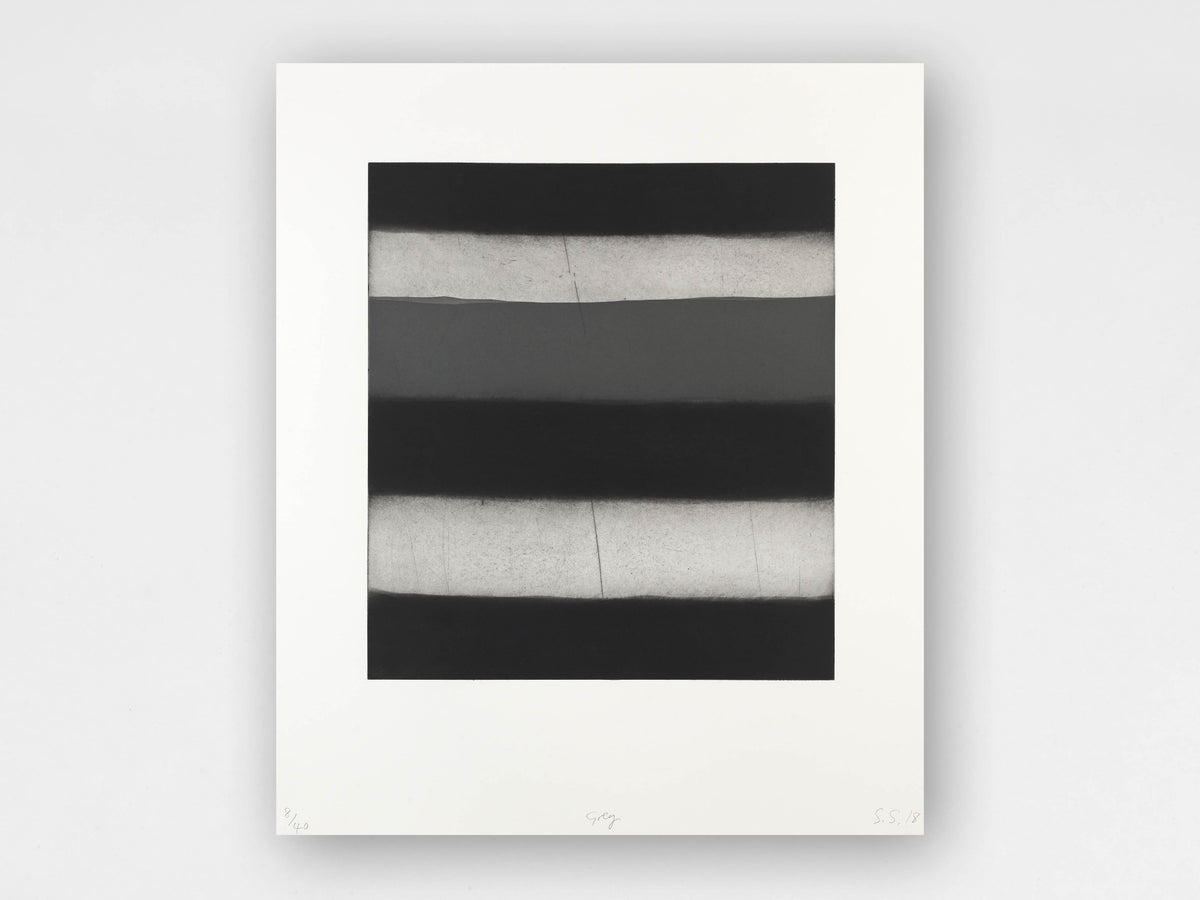 Sean Scully 'Grey' Limited-Edition Print