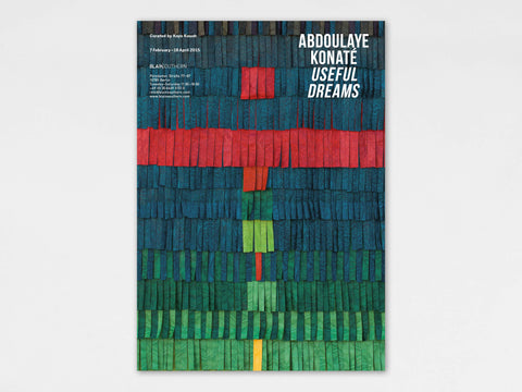 Abdoulaye Konaté, 'Useful Dreams' Exhibition Poster