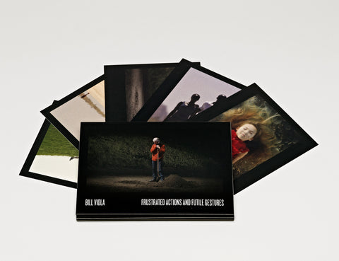 Bill Viola, set of five collectable postcards
