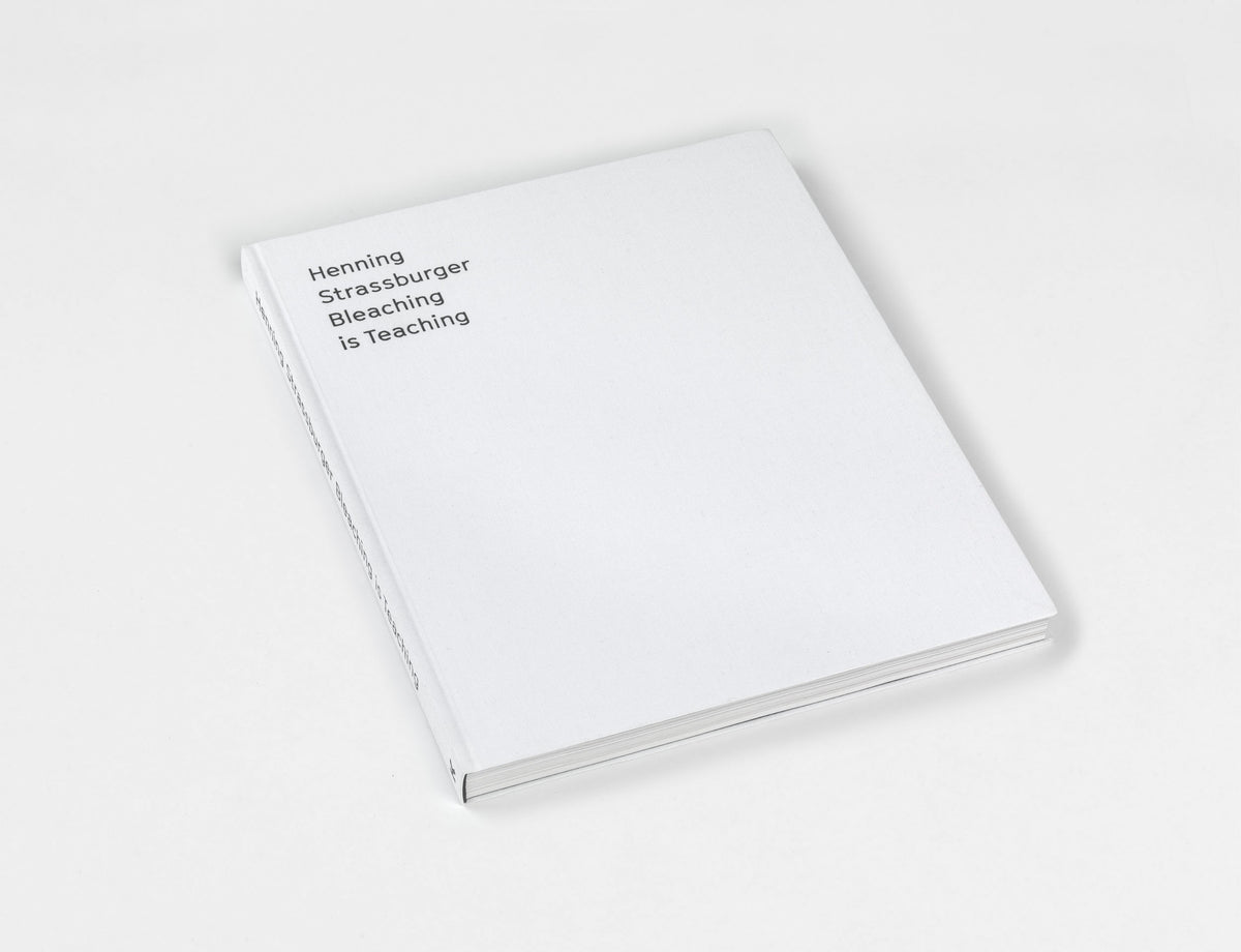 Henning Strassburger, 'Bleaching is Teaching' Publication