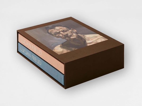 Lucian Freud Two-Volume Monograph with Slipcase