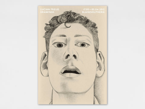 Lucian Freud, 'Startled Man' Poster