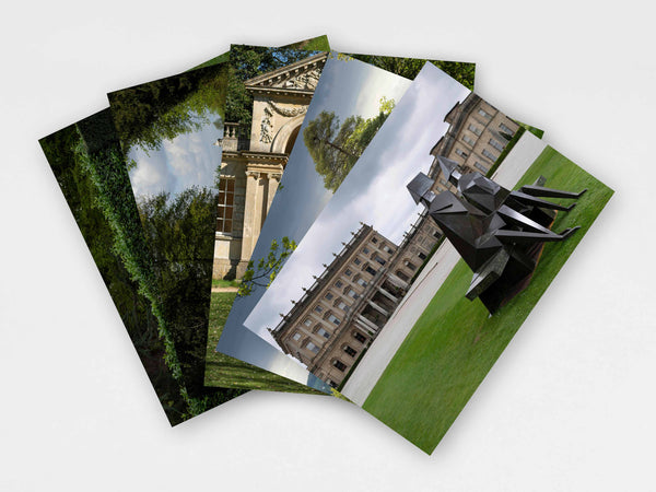 'Lynn Chadwick at Cliveden' postcards