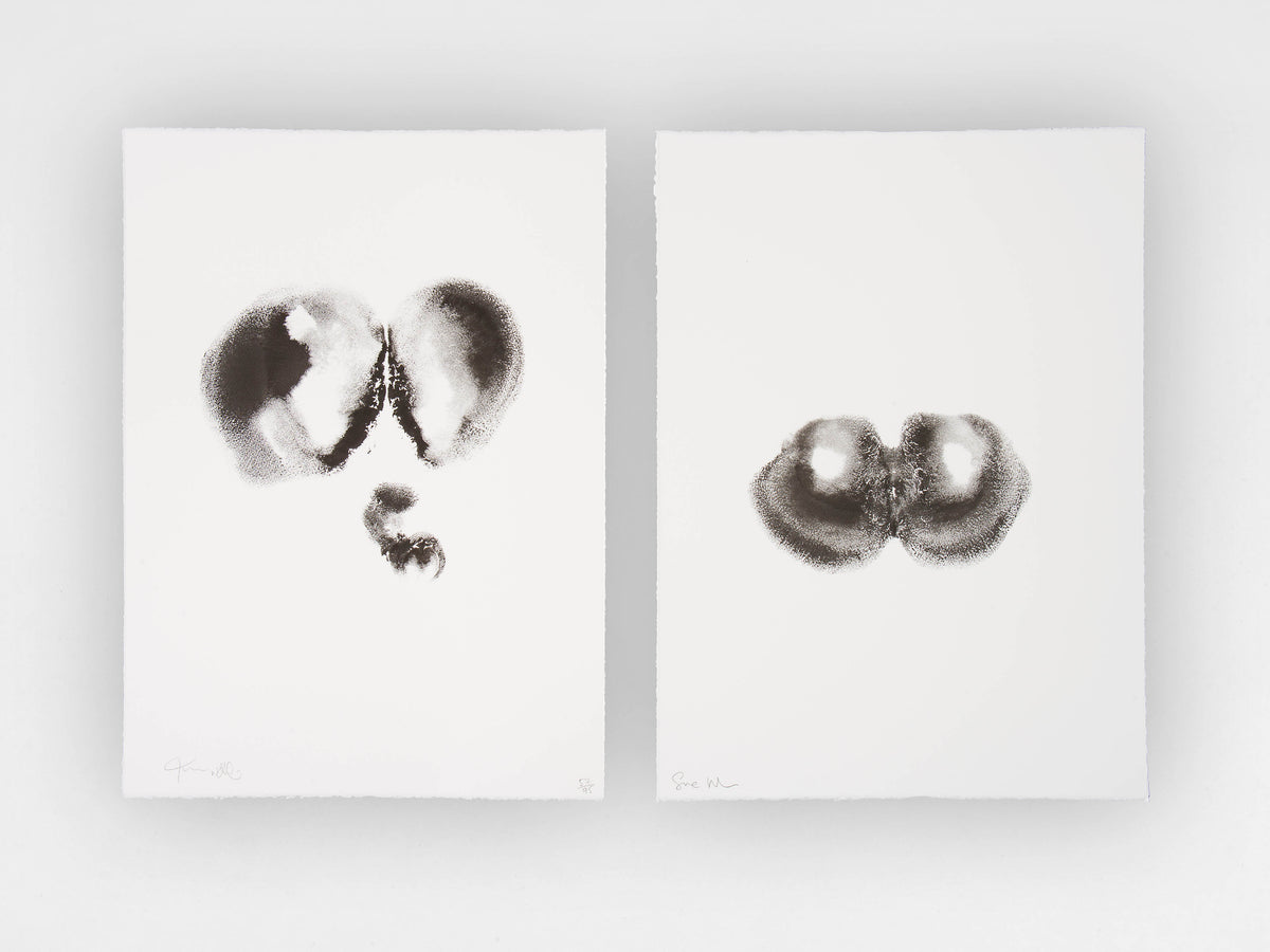 Tim Noble and Sue Webster, 'Black Bottoms', Limited Edition Diptych Monoprints, Edition 52