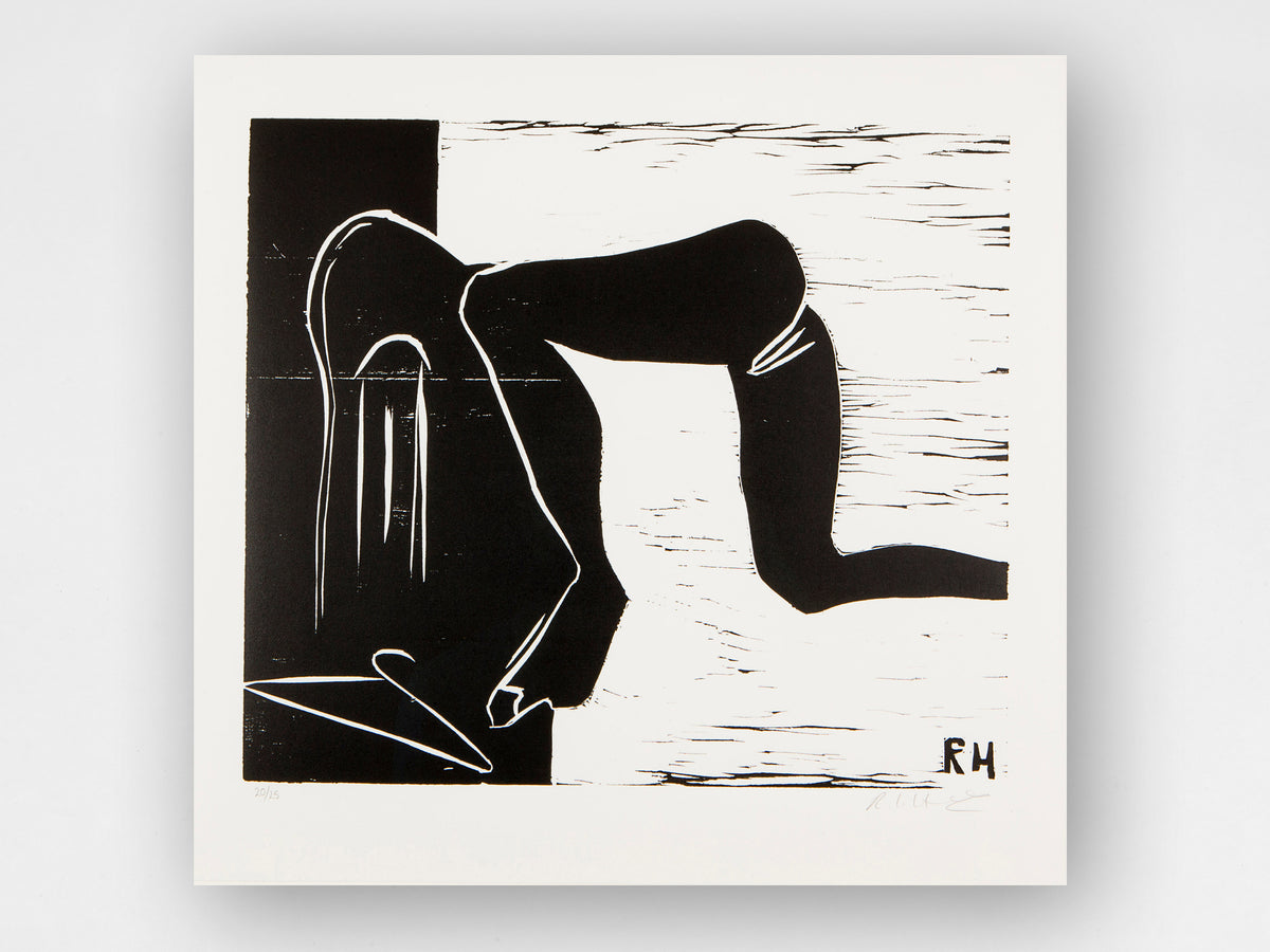 Rachel Howard, 'Hanger', Limited Edition Woodcut Print