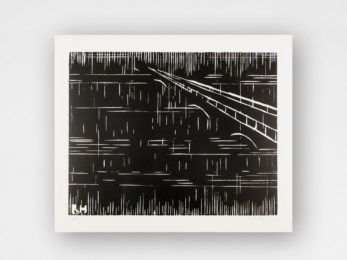 Rachel Howard, 'Bridge', Limited Edition Woodcut Print