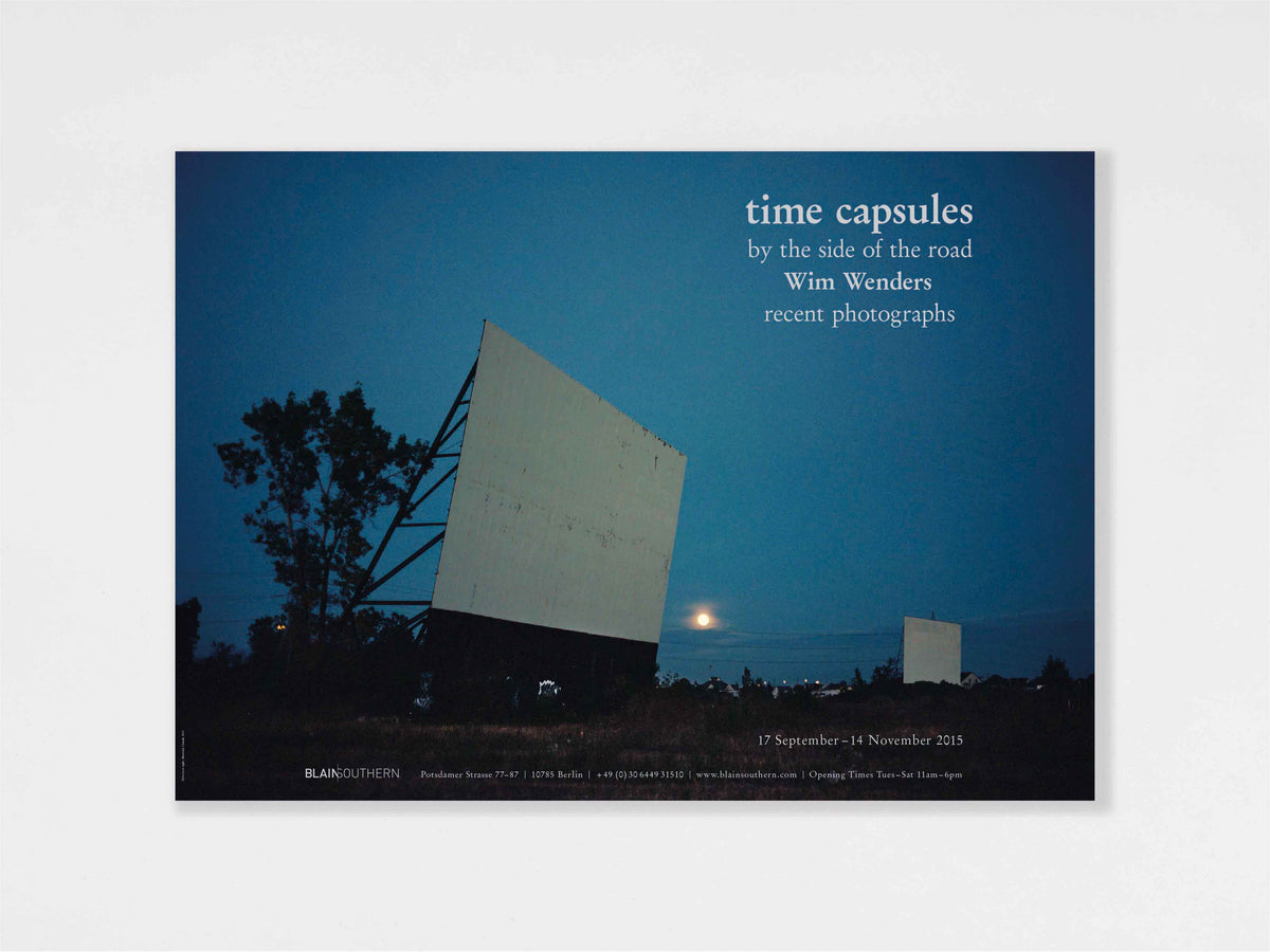 Wim Wenders, 'Time Capsules. By the side of the road.' Poster