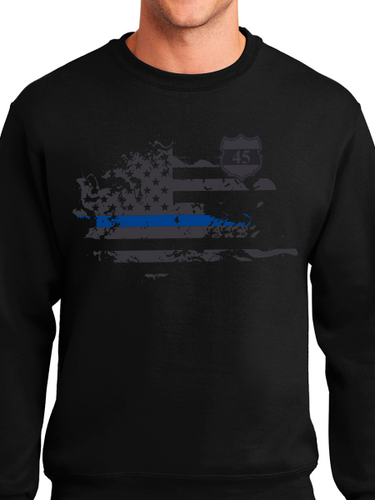In Memory of Officer Miktarian Unisex Crew Neck Sweatshirt