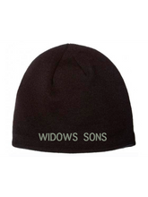 Load image into Gallery viewer, Widows Sons Skull & Compass Coolmax Beanie - Black