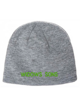 Load image into Gallery viewer, Widows Sons Skull & Compass Coolmax Beanie - Heather Grey