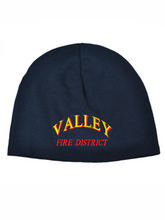 Load image into Gallery viewer, Valley Fire District Text Cool Max Beanie