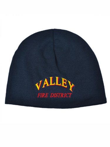 Valley Fire District Text Cool Max Beanie