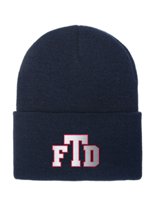 TFD Initials FlexFit Thinsulate Cuffed Beanie