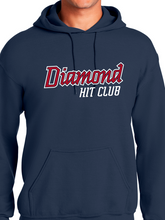 Load image into Gallery viewer, Diamond Hit Club Heavy Blend Hooded Unisex Sweatshirt