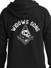 Load image into Gallery viewer, Widows Sons Compass, Square, & Skull Zip Up