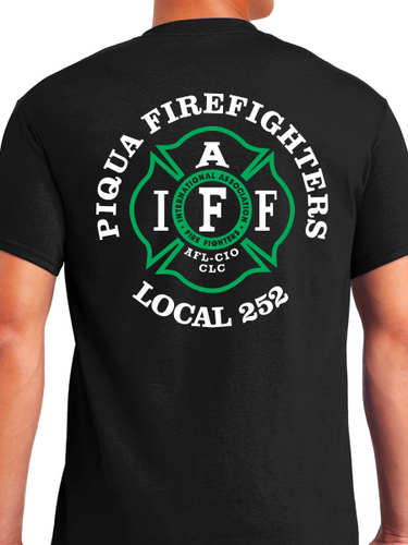 Piqua Fire Union - Green Unisex T Shirt