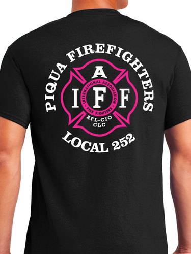 Piqua Fire Union - Pink Unisex T Shirt