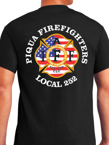 Piqua Fire Union - USA Unisex T Shirt