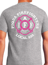 Load image into Gallery viewer, Piqua Fire Union - Pink Unisex T Shirt