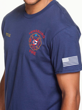 Load image into Gallery viewer, Twinsburg Duty American Flag T Shirt