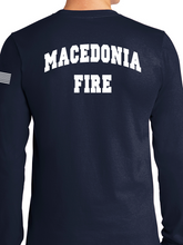 Load image into Gallery viewer, Macedonia Fire Dept. Standard Unisex Duty Long Sleeve T Shirt