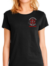Load image into Gallery viewer, Macedonia Fire Dept Red Helmet Women's T Shirt