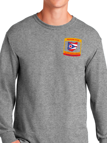 Region 5 Collapse Search & Rescue Long Sleeve T Shirt