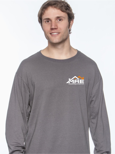 MAE Construction Long Sleeve T Shirt