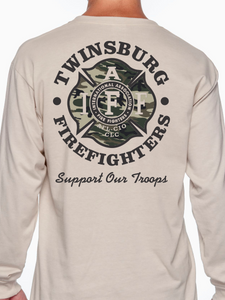 Military Unisex Long Sleeve T Shirt