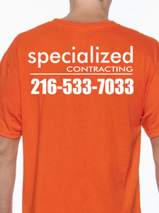 Specialized Contracting T Shirt