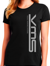 Load image into Gallery viewer, VMS Vertical 50/50 Women's T Shirt