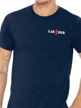 Load image into Gallery viewer, Columbus Fire - Eagle Diamond Plate Unisex T Shirt LADDER