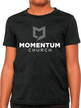 Load image into Gallery viewer, Momentum Youth T Shirt - Stacked