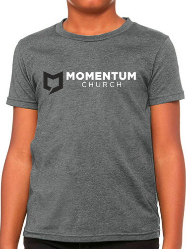 Momentum Youth T Shirt - Horizontal