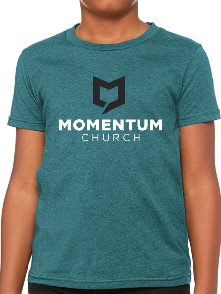 Momentum Youth T Shirt - Stacked
