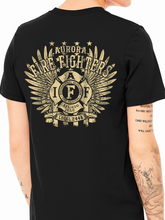 Load image into Gallery viewer, Aurora Fire Union / Wings Unisex Jersey T Shirt