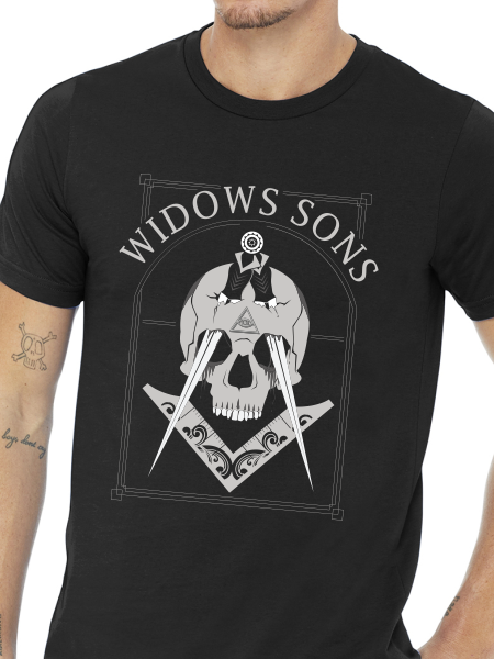 Widows Sons Stabbed Skull Unisex T Shirt