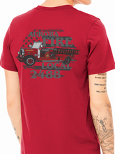 Load image into Gallery viewer, Aurora Fire Union / Retro Truck Unisex Jersey T Shirt