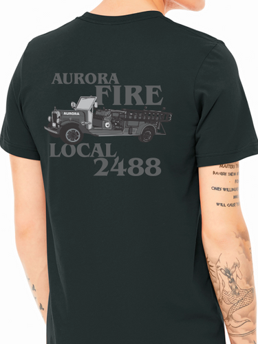 Aurora Fire Union / Subdued Truck Unisex Jersey T Shirt